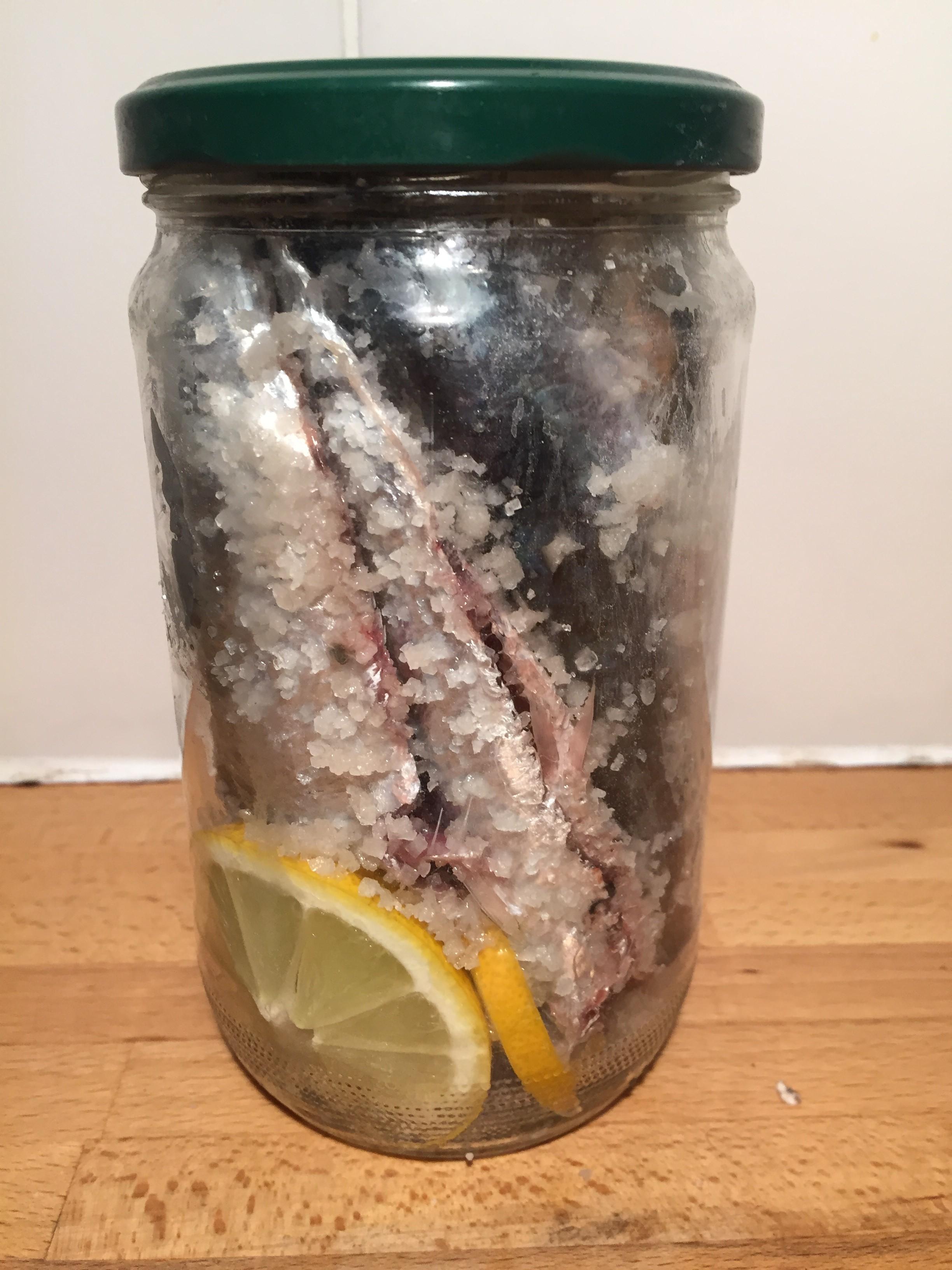 Conserve de sardines au sel les 2 crocs - Conserve de sardines maison ...